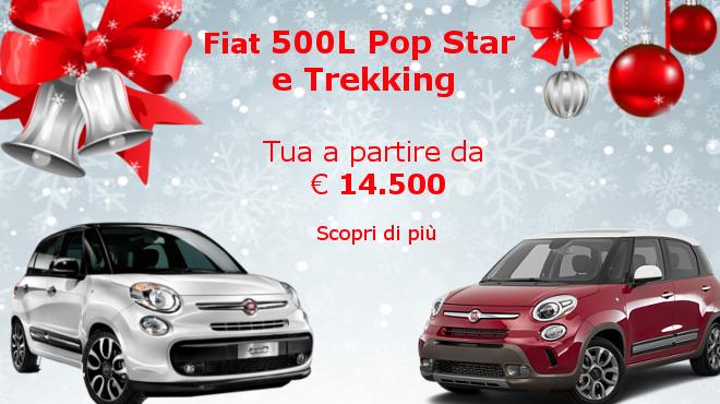 Al Gruppo Zago in offerta Fiat 500L