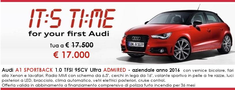 Audi A1 sportback Admired in offerta a Gruppo Zago