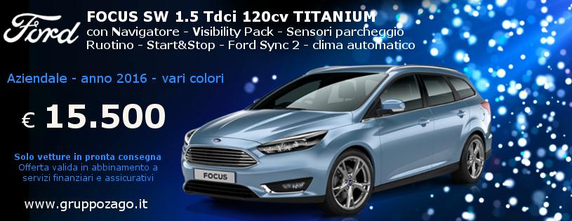 Ford Focus sw aziendale in offerta da Gruppo Zago