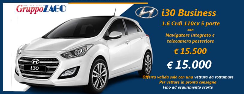 Hyundai i30 in promozione da Gruppo zago