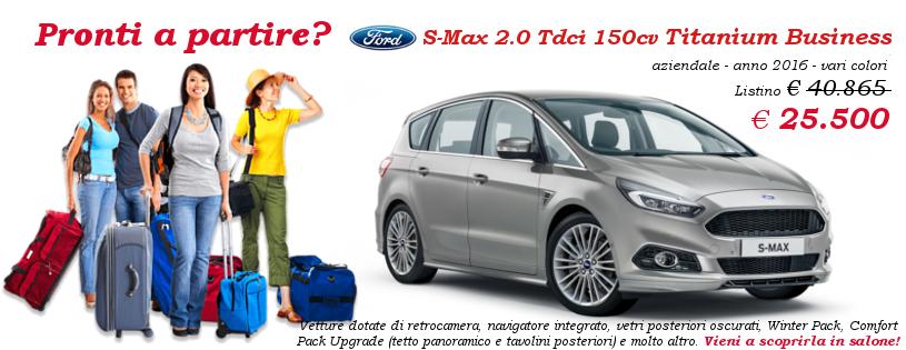 Ford S-Max in offerta da Gruppo Zago