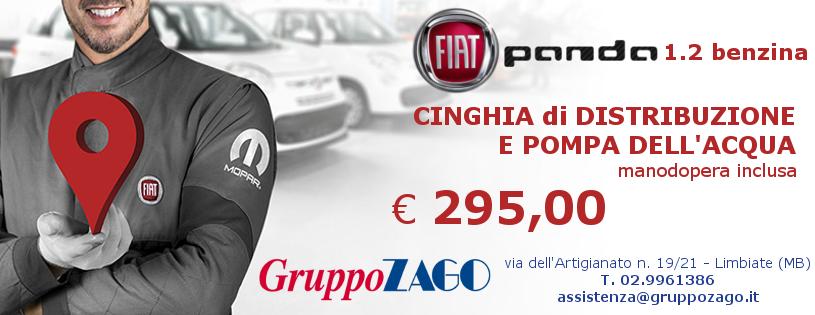 Promozione cinghia di distribuzione Fiat panda da Gruppo Zago