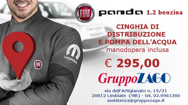 Promozione cinghia di distribuzione per Fiat Panda da Gruppo Zago a Limbiate