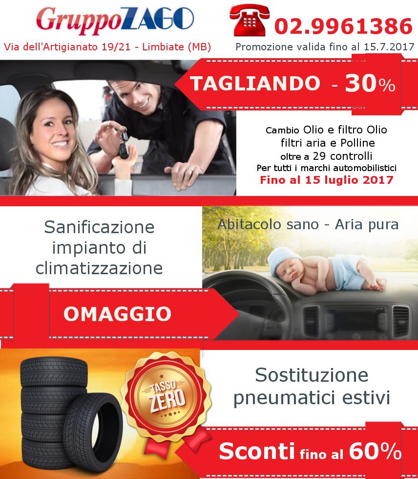 Promozione Tgaliando auto - Gruppo Zago